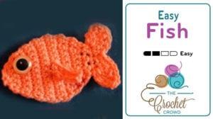 Crochet Easy Fish