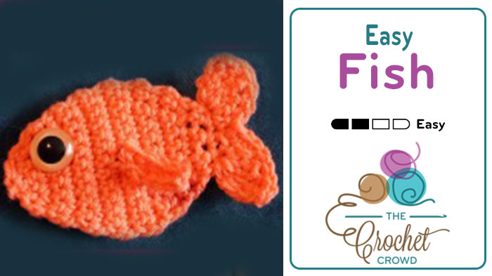 Crochet Easy Fish