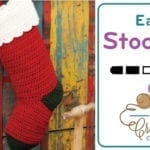 Dog Paws Christmas Stocking + Tutorial
