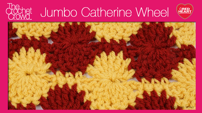 Jumbo Catherine Wheel Stitch