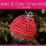 Heart & Sole Ornaments 1.5