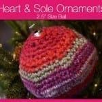Heart & Sole Ornaments 2.5