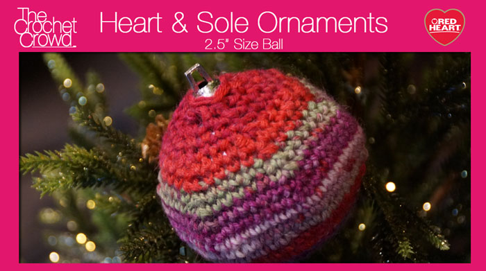 "2.5"" Diameter Crochet Chrismas Balls"
