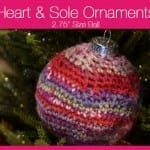 Heart & Sole Ornaments: 2.75