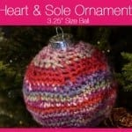 Heart & Sole Ornaments 3.25