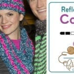 Crochet Reflective Cowl + Tutorial