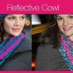 Crochet Reflective Cowl + Video Tutorial