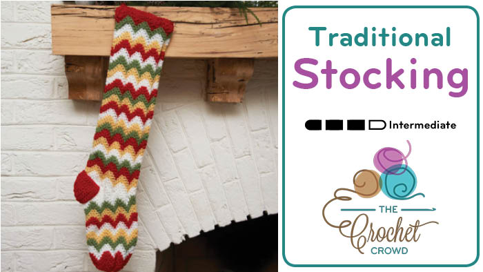 Crochet Traditional Stocking