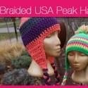 USA Peak Braided Hat + Video Tutorial