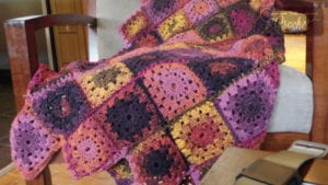 Crochet Bumble Berry Afghan