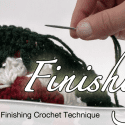DIY: Crochet Finishing Technique