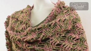 Crochet Lattice Wrap