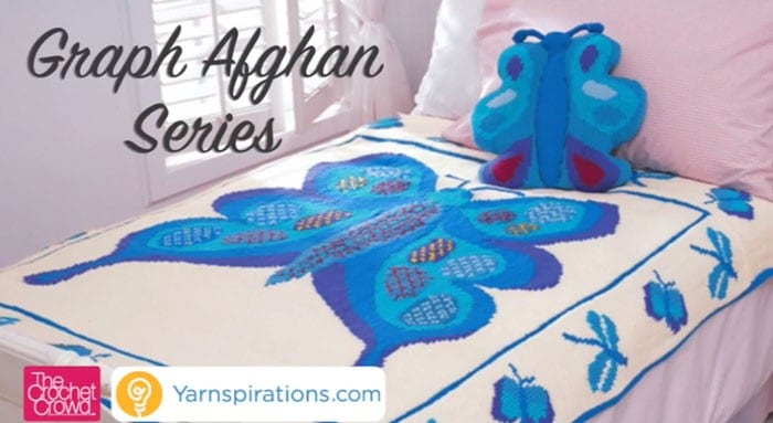 Crocheting From A Graph : Crochet Graph Afghan Series
