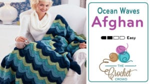 Crochet Ocean Waves Afghan