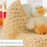 Crochet Puffy Baby Blanket + Video Tutorial