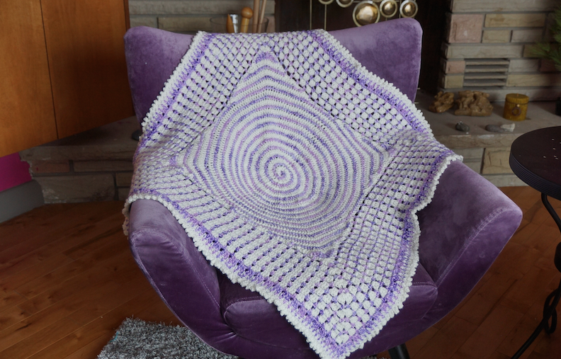 Crochet Pattern: Dream Time Baby Blanket