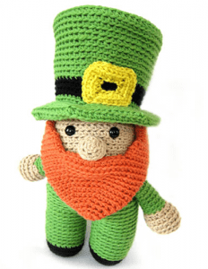 Crochet Leprechaun Doll
