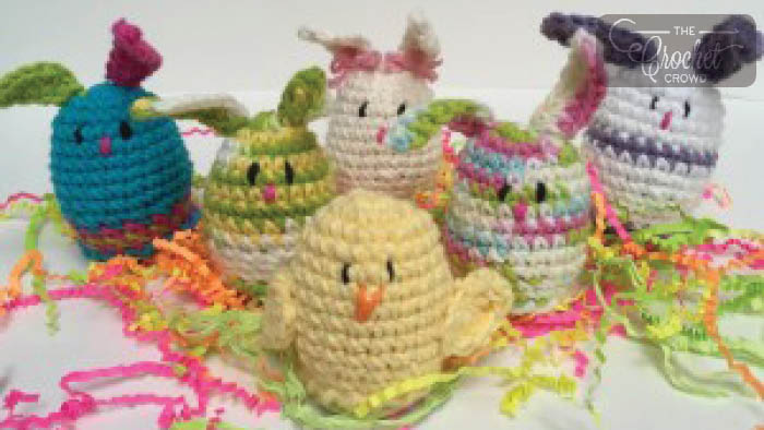 Crochet Sweet Treat Chicks