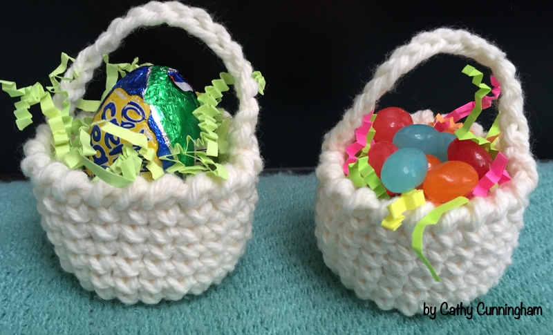 Sweet Treat Crochet Baskets