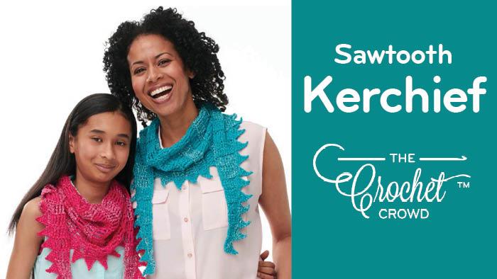 Crochet Sawtooth Kerchief