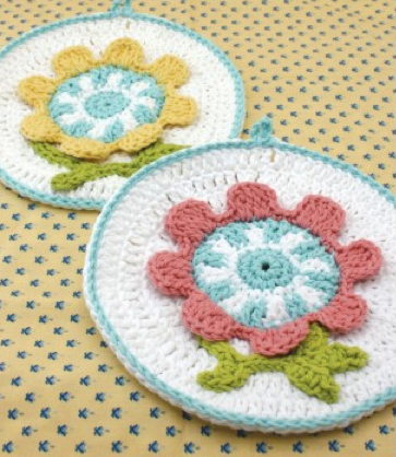 Tidy Up with 9 Crochet Dish Cloths - The Crochet Crowd
