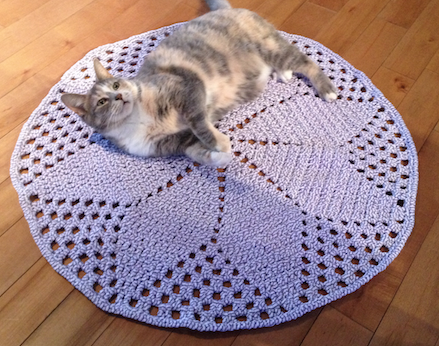 Crochet T Shirt Yarn Rug Pattern