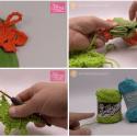 Crochet Leaf Towel Topper Pattern