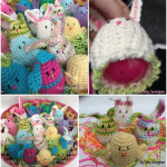 Sweet Treat Crochet Bunnies Pattern