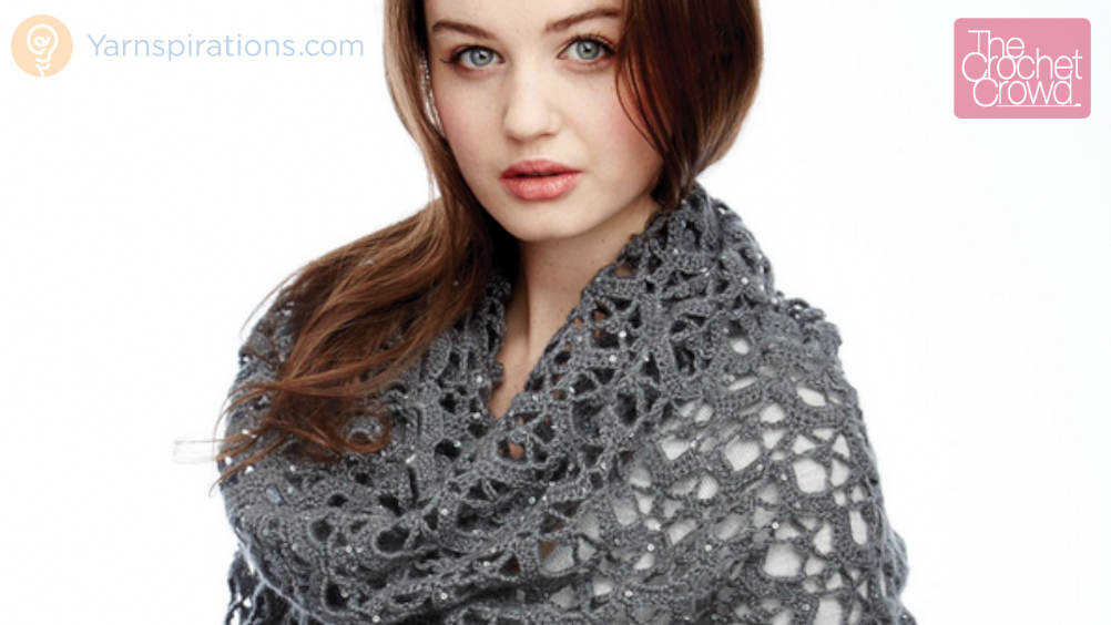 Shine Like Diamonds Shawl