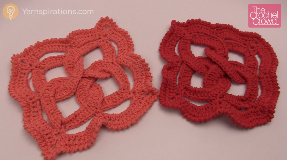 Celtic Knot Square Tutorial The Crochet Crowd