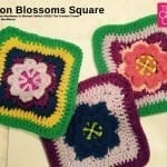 Button Blossoms Square