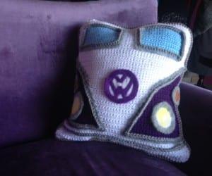 Crochet Van Pillow