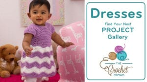 Crochet Baby Dresses Gallery