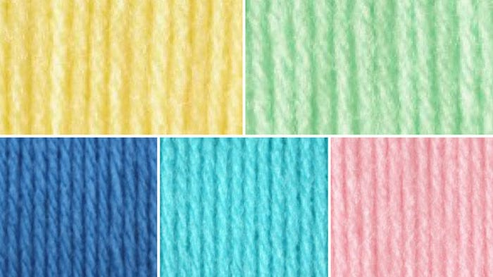 Baby Room Yarn Color Combinations