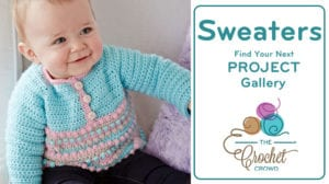 Crochet Baby Sweaters Project Gallery