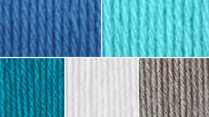 Beach House Yarn Color Combination