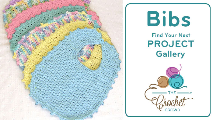 Crochet Bibs Project Gallery