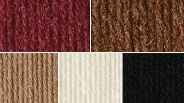 Bronze Yarn Color Combinations