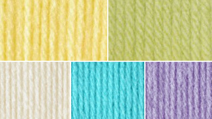 Candy Color Yarn Combinations