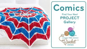 Crochet Comics Project Gallery