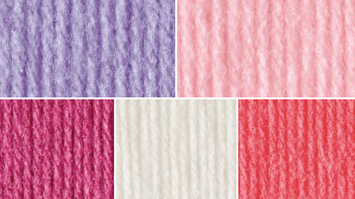 Cotton Candy Yarn Color Combo