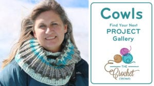 Crochet Cowls Project Gallery