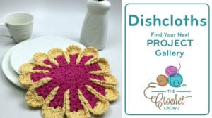 Crochet Dishcloth Project Gallery