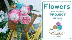 Crochet Flowers Project Gallery