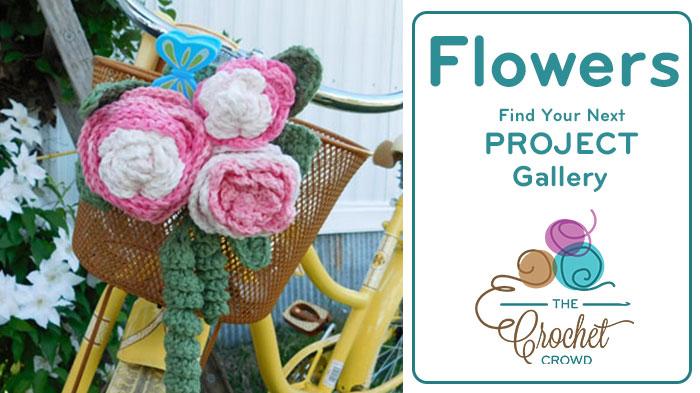 Crochet Flowers Project Gallery