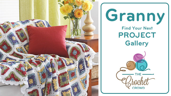 Crochet Granny Squares Project Gallery