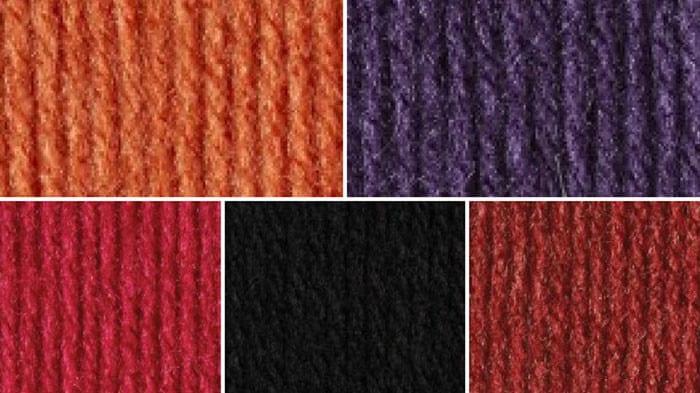 Halloween Yarn Color Combination