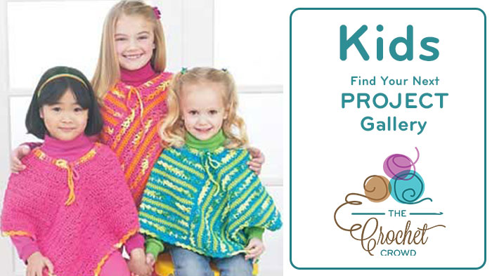 Crochet Kid Size Project Gallery