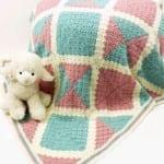 Perdido Baby Blanket - Corner to Corner