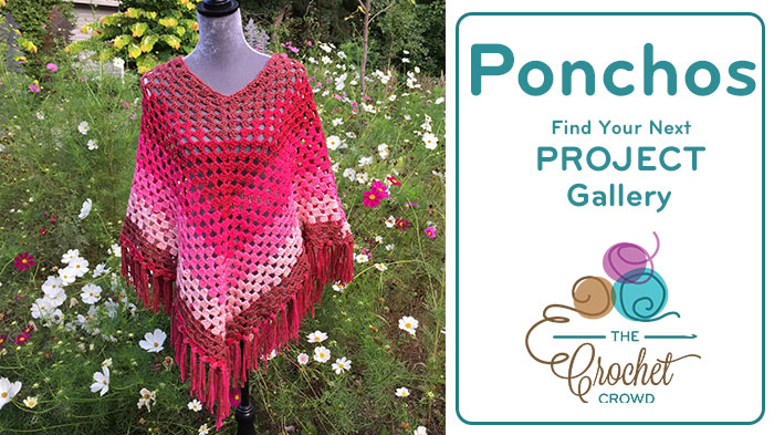 Crochet Ponchos Project Gallery